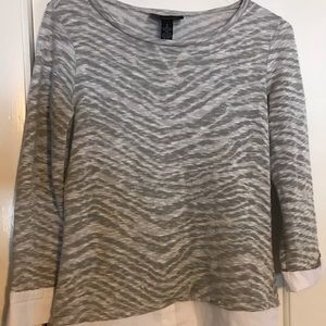 I.N.C Layered look top woman's Sz small